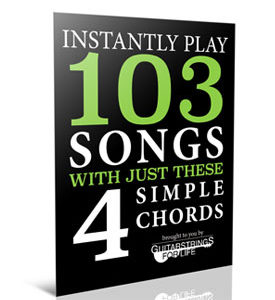 103 Songs With Just 4 Chords